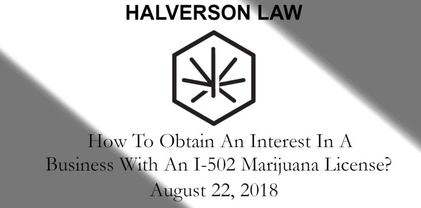 Seattle Marijuana License
